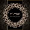 Vector set of vintage luxury background design 05