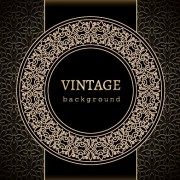 Link toVector set of vintage luxury background design 05
