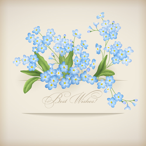 flower design for cards