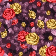 Link toVintage roses seamless pattern vector graphic 02