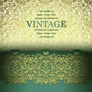Link toVintage seamless luxury pattern background vector 03