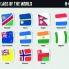 World flags stickers design vector set 09