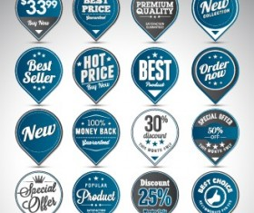 Creative sale badges design graphics 02