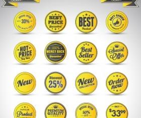 Creative sale badges design graphics 04