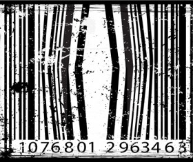 The offbeat bar codes design vector graphic 02