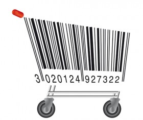 The offbeat bar codes design vector graphic 03