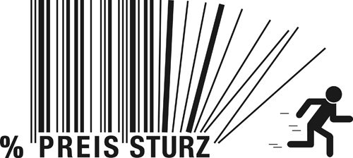 The offbeat bar codes design vector graphic 05