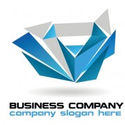 Link toCreative blue style business logos vector set 01