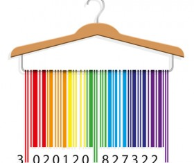 Creative clothes hangers design elements vector 04