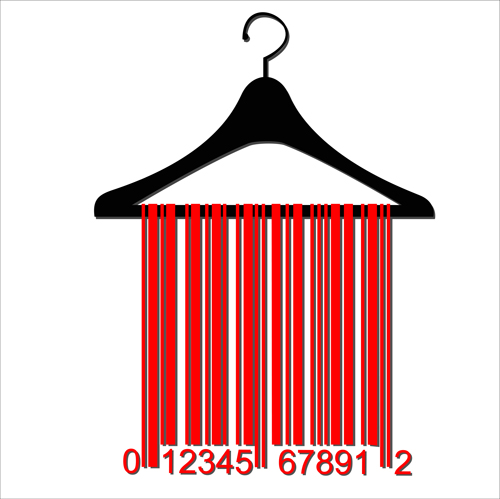 Creative clothes hangers design elements vector 05 for Creative clothes hangers