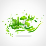 Link toCreative ecology city background illustration 05