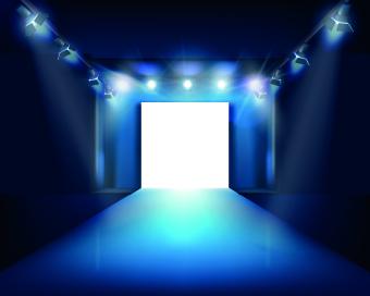 spotlight light design background vector 05 – over millions, Modern powerpoint