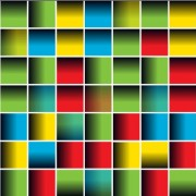 Link toMulticolor squares creative background vector set 02