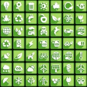 Link toCreative white social icons vector graphic 03