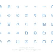 35 kind small fine psd icons