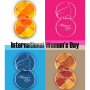 Link to8 march international women day design vector graphics 03