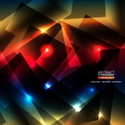 Link toAbstract shapes bright background vector