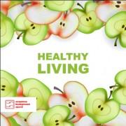 Link toApple slice healthy food background vector 02