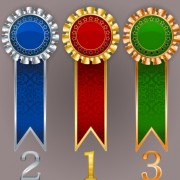 Link toCreative colored award badges vector 02