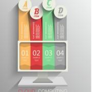 Link toBusiness infographic creative design 1037