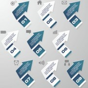 Link toBusiness infographic creative design 1061