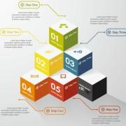 Link toBusiness infographic creative design 1063