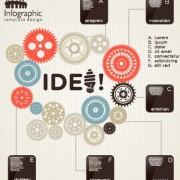 Link toBusiness infographic creative design 967