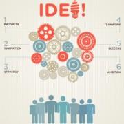 Link toBusiness infographic creative design 968