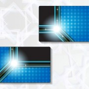 Link toDelicate modern business cards vector graphics 04