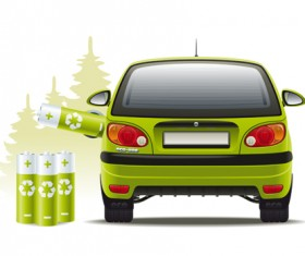 Car hybrid design elements vector 02