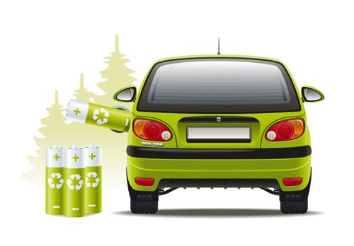 Car hybrid design elements vector 02