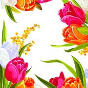 Link toColored beautiful flowers design graphics