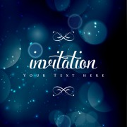 Link toColored halation invitations background vector 01