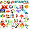 Creative infographic design elements vector material 02