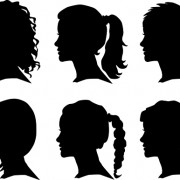 Link toCreative man and woman silhouettes vector set 04