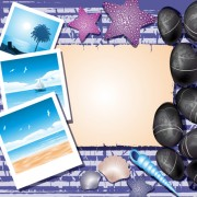 Link toCreative travel photos background vector 01