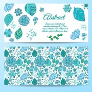 Link toCute abstract elements banners vectors 05