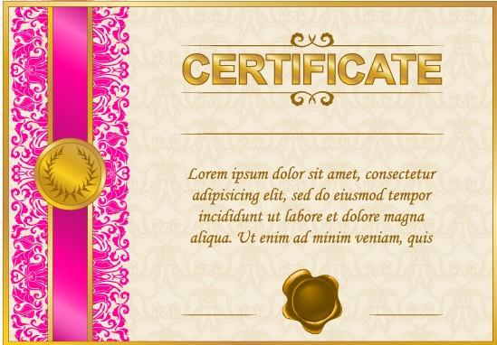 free diploma certificate template .