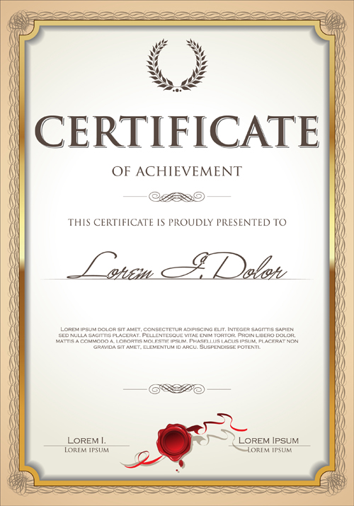 Exquisite certificate frames with template vector 04 vector exquisite certificate frames with template vector 04 yelopaper Gallery