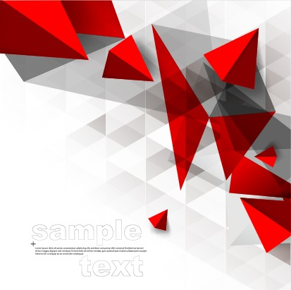 3d geometry shiny background graphic 04