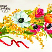 Link toHappy birthday flowers greeting cards 03