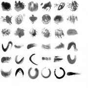 Link toInk marks photoshop brushes