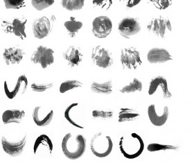 Ink marks Photoshop Brushes