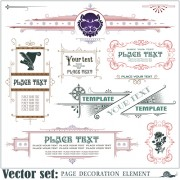 Link toPage decoration borders and frames vector 01