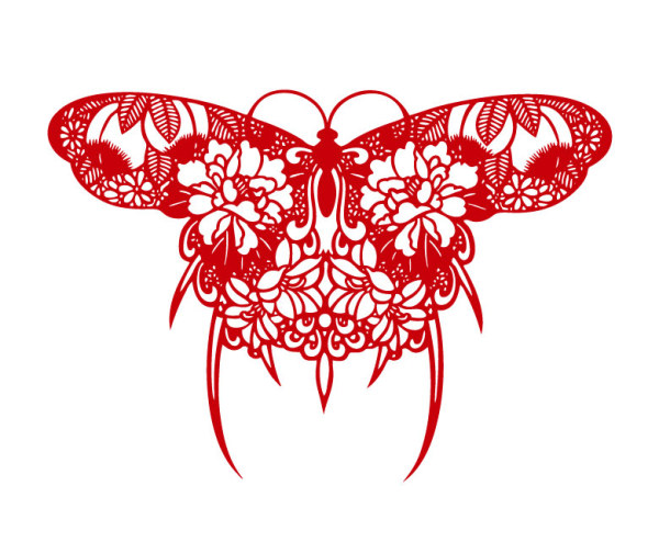 Paper Cut Design Patterns Paper Cut Butterfly Design
