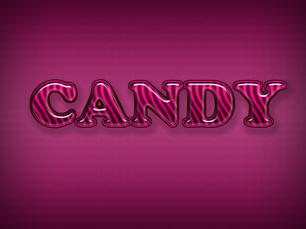 Text Designs Psd Pink Candy Text Design Psd