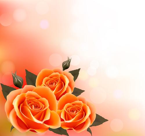 Vector Set Of Spring Flowers Design Graphics 05 Free Download