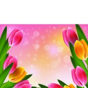 Link toVector set of spring flowers design graphics 06