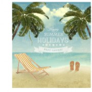 Link toSummer holidays happy travel background vector graphic 04