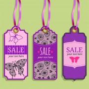Link toVintage sale tags creative design set 02